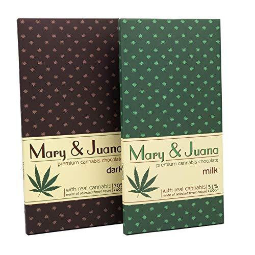 Mary & Juana Hanf Schokolade...
