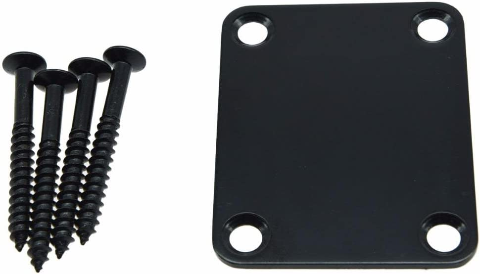 Dopro Direct sale of manufacturer 4-Bolt Electric Guitar Replacement Metal Bass Ne Neckplate Max 89% OFF