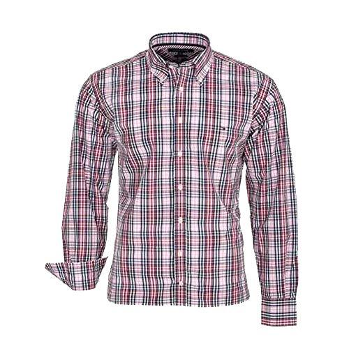 Tommy Hilfiger Camisa de Hombre Estampada (M, Eliot)