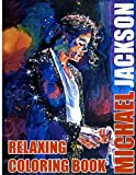 Michael Jackson Relaxing Coloring Book: New Kind Of Stress Relief Coloring Book For Kids And Adults And Michael Jackson Fans, High-Quality Character Designs For Stress Relieving And Relaxation