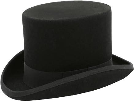 e42f85d906dd Dobell Boys Black Top Hat 100% Wool Classic Formal Wedding