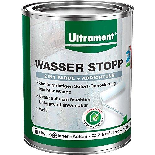Ultrament Wasser Stopp, weiß, 1kg