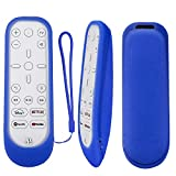 Protective Silicone Remote Case for Playstation 5 Media Remote Control, Protective Cover for PS5 Controller, Shockproof Washable Cover with Loop-Blue