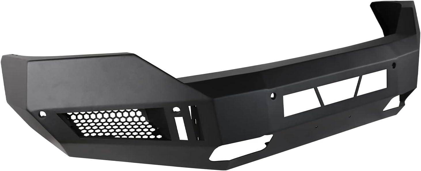 Spec-D Tuning 1Pc Front Bumper Heavy Steel Cheap mail Max 67% OFF order sales Duty Black Repla Matt