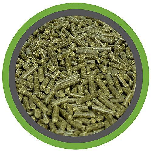 MeineHennen (EUR 2,30/ kg) Luzerne AKTIV PELLETS 10kg für Geflügel/Hühner im Eimer mit Dosierlöffel