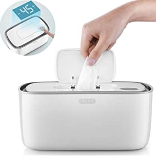 Wipe Warmer and Baby Wet Wipes Dispenser Holder, Baby Wipes Heater, Household Portable Wipes Heating Box Insulation Container, with Universal Conversion Plug