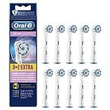 Oral-B Sensi-Touch Ultrathin - Pack de cabezales de repuesto para cepillo de dientes eléctrico (8+ 2unidades)