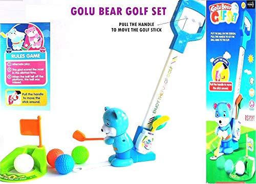 Akrobo GOLU Bear Golf Set Sports Indoor & Outdoor Games - Lets Have Fun