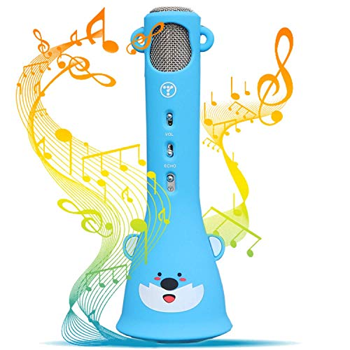 Review Of TOSING Wireless Karaoke Microphone for Kids,Birthday-Gifts For 4 5 6 7 8 9 10 11 Years Old...