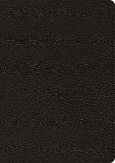 esv macarthur study bible premium calfskin leather black