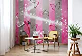 Wallsticker Warehouse Schmetterlinge Fototapete - Tapete - Fotomural - Mural Wandbild - (401WM) - XXXL - 416cm x 254cm - VLIES (EasyInstall) - 4 Pieces