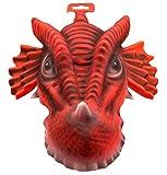 Folat Eva Party Maske mit Elastic XXL–Red Dragon