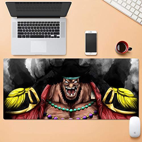 Ruffy Gaming Mauspad | XXL Tischunterlage |One Piece Mouse Pad|Glatte Oberfläche, Rutschfestes Gummi, Mauspad Mit Designs Für Gamer Und Büroarbeit
