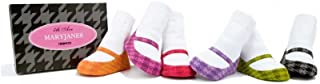 Multi-colored 6 Pairs of 5TH Ave Mary Jane Socks by Trumpette 0-12 Months