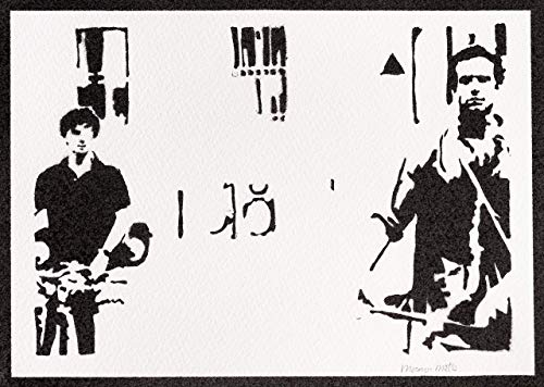 Poster Call Me by Your Name Handmade Graffiti Street Art - Aesthetic Artwork