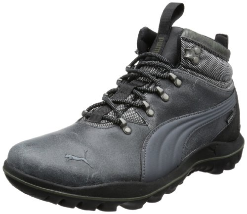 Puma Silicis Mid L 304278, Herren Trekking- & Wanderschuhe, Schwarz (black-dark shadow-forest night 04), EU 44.5 (UK 10) (US 11)