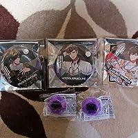 ヒプノシスマイク 缶バッジ リングライト 四十物十四 天国獄 山田三郎 anime グッズ