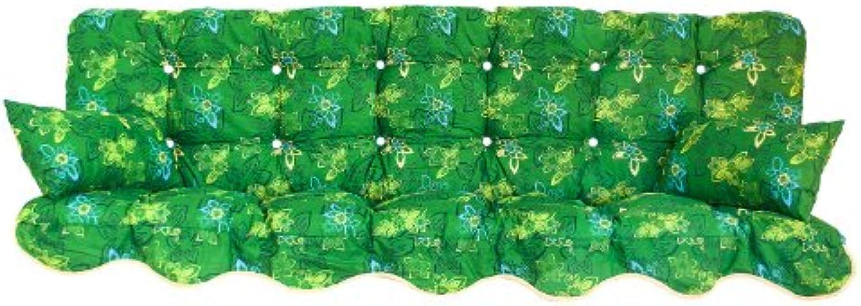 Kühnemuth Polsterauflage Gartenstuhlauflage Modell 700 (180x50 cm Hollywoodschaukelauflage)