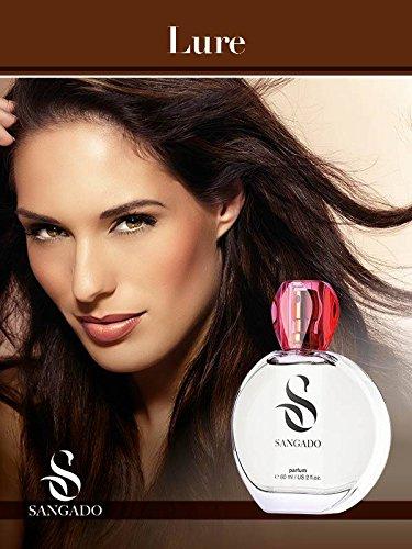 SANGADO Fragrances Verführerin Parfüm für Damen, 60ml