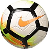Nike SC3147 Ballon de Foot Blanc/Orange Taille 5