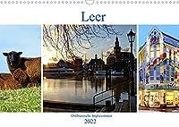 Leer - Ostfriesische Impressionen 2022 (Wandkalender 2022 DIN A3 quer): Leer, das Tor zu Ostfriesland. (Monatskalender, 14 Seiten )
