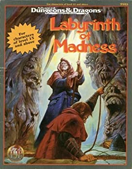 Labyrinth of Madness (Ad&D Adventure - Special Tsr Anniversary Adventure) - Book  of the Advanced Dungeons and Dragons Module #C4