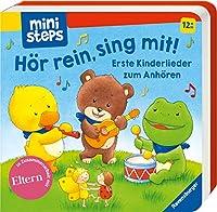 Hoer rein, sing mit! Erste Kinderlieder zum Anhoeren.: Ab 12 Monaten