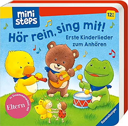 Hör rein, sing mit!: Erste Kinderlieder zum Anhören.