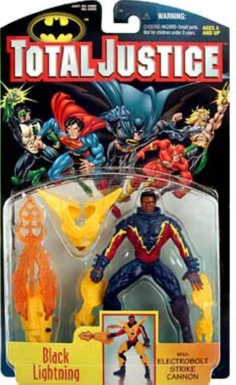 Kenner Total Justice   Black Lightning Action Figure