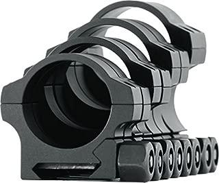 NightForce Standard Duty Riflescope Ring Set,Black,30mm,1.0in,Medium