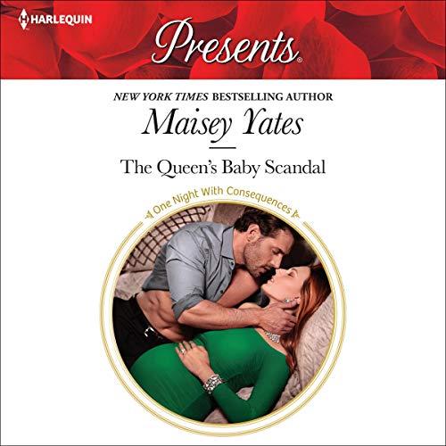 The Queen's Baby Scandal audiobook cover art