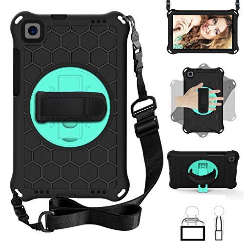 Mangas de la bolsa de la caja de la PC de la tableta Para Huawei M3 8.0 M5 8.4 Caso.Funda de tableta EVA + PC a prueba de choques livianas y de cuerpo completo, rotación impermeable, impermeable, agar