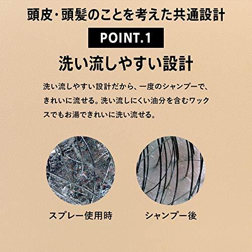 アンファー(ANGFA)スカルプDブラックカバースプレー150gへアカバー増えみせボリュームアップ増毛スプレースタイリング剤