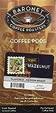 Baronet Coffee Hazelnut Coffee Pods Box, 54 Count
