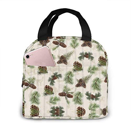 Bolsa de almuerzo pequeña para bebé, para mujeres, niñas, niños, bolsa térmica térmica térmica para alimentos, ideal para almuerzo, camping, viajes, pesca