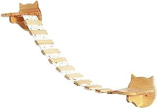 Creation Core Large Wooden Cat Cloud Shelf Board Wall Mounted Cat Perch Kitten Climber Tree