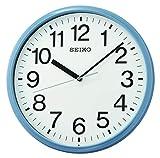 Seiko - Reloj de pared para negocios, color azul