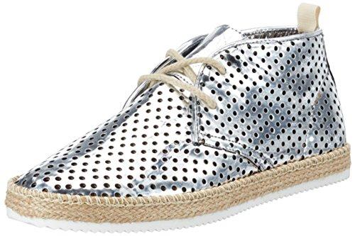 nobrand Damen Eclipse Chukka Boots, Silber (Silver), 39 EU