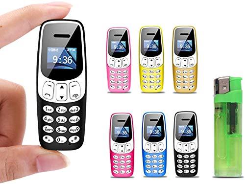 J7 Smallest Phone in The World - Mini Mobile Phone Smaller Than bm10 Unlocked (Black)