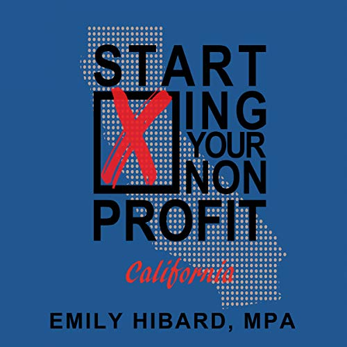 Starting Your Nonprofit: California audiobook cover art