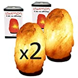 My Custom Style 2 lámparas de Sal del Himalaya (Punjab Pakistán) 2-3 kg