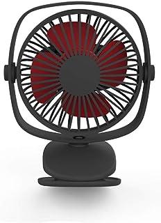 XIAOF-FEN Small Fan Portable USB Charging Travel Handheld Electric Fan Dormitory Desktop Mini Personal Fan USB Fan Color : Pink