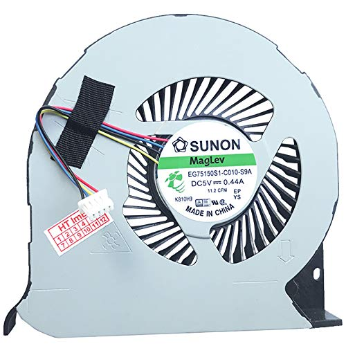 (GPU Version) Fan Cooler Compatible with Dell Precision 15 7510, Precision 15 7520, Precision 7510