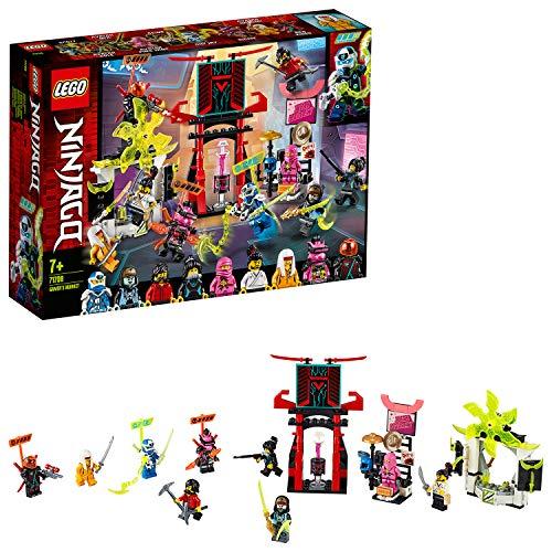 LEGO 71708 NINJAGO Marktplatz, Minifiguren-Set mit Digi Jay, Avatar Pink Zane und Avatar Harumi