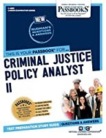 Criminal Justice Policy Analyst II (Career Examination)