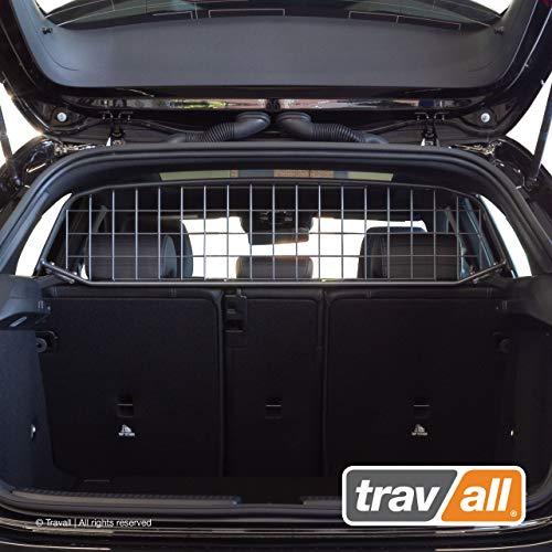 Travall Guard Grilles Pare-Chien Compatible avec Mercedes-Benz Classe A 5 Portes Hayon (2018 et Ulterieur) TDG1619 - Grille de Separation avec Revêtement en Poudre de Nylon