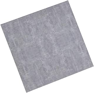 ZHANWEI 3D Wall Panels Cement Gray Four Grid Plastic Self-Adhesive Wallpaper, 2 Styles (Color : B, Size : 10 PCS)