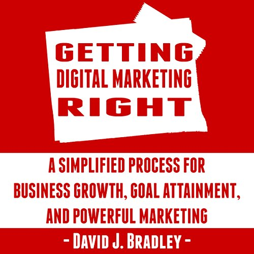 Getting Digital Marketing Right audiobook cover art