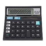 Redxiao 【𝐎𝐟𝐞𝐫𝐭𝐚𝐬 𝐝𝐞 𝐁𝐥𝐚𝐜𝐤 𝐅𝐫𝐢𝐝𝐚𝒚】 Calculadora Solar, Datos precisos portátiles Profesionales y prácticos con Pantalla Grande de 12 bits para Office Scientific Calculator