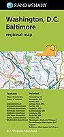 Rand McNally Washington D.C. / Balitmore Regional Map (Rand Mcnally Regional Map)